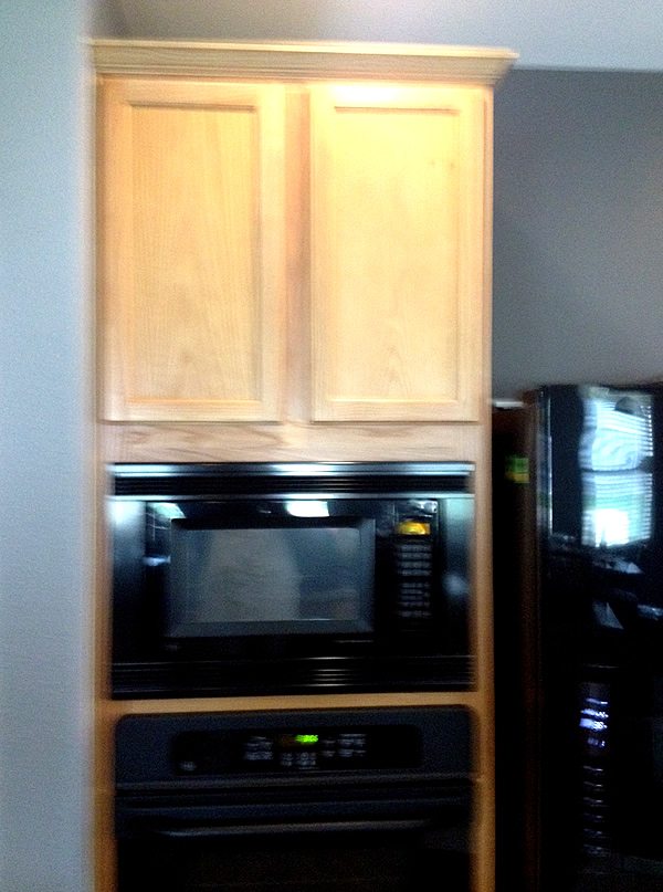 hickory cabinets for kitchen